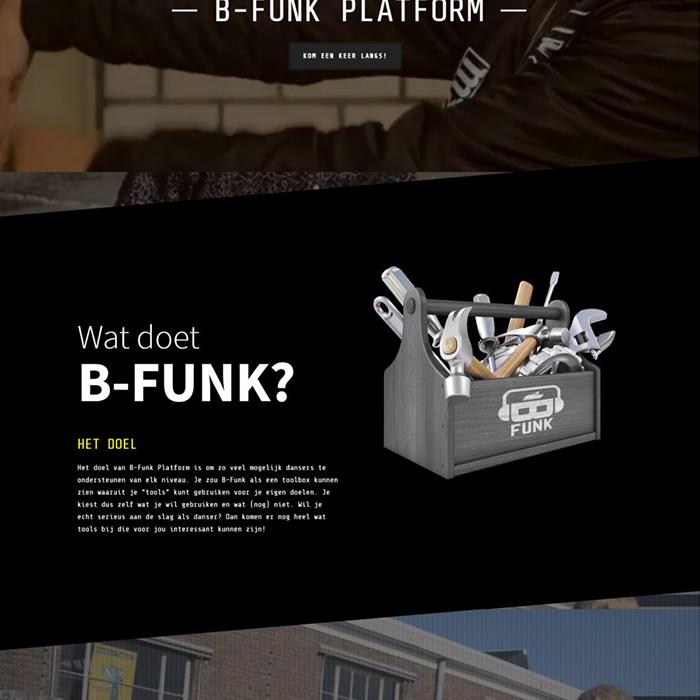 B-Funk Platform - Website